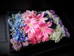 お別れ花11