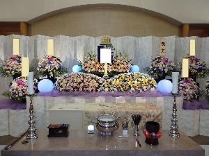 市営生花祭壇