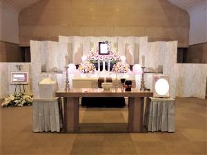 市営斎場祭壇