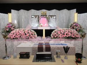 旭斎場祭壇